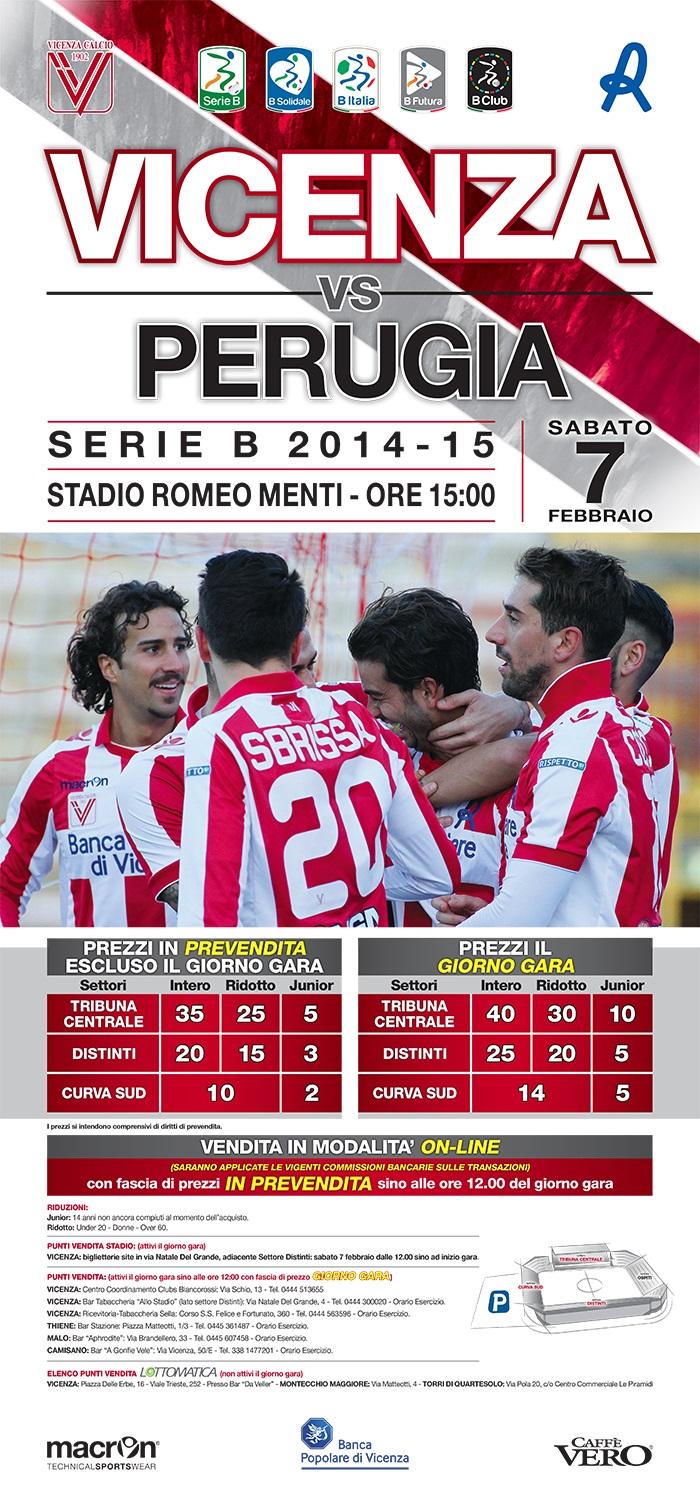 Verso Vicenza-Perugia, i biglietti | Biancorossi.net